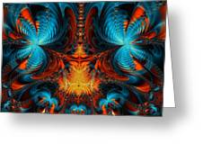 Butterfly Plasma  Greeting Card by Ian Mitchell