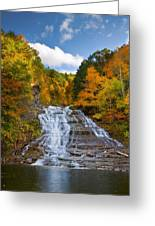 Buttermilk Falls 2 Greeting Card by Mark Papke