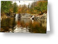 Buttermilk Falls Greeting Card by Dennis Clark