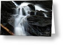 Buttermilk Falls Greeting Card by Frank Piercy