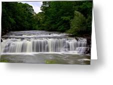 Buttermilk Falls Greeting Card by Pat Marzinsky