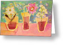 Buttons Greeting Card by Diane Fine