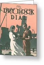 Buy A Bond Greeting Card by Edward Hopper