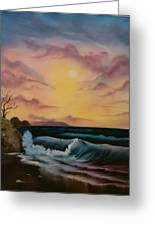 By-the-sea Greeting Card by Lynn Lawrence