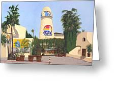 Cabo Wabo Cantina Greeting Card by Chris MacClure