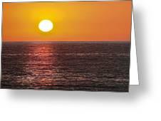 Caliente State Beach   Greeting Card by Gilbert Artiaga
