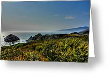 California - Big Sur 003 Greeting Card by Lance Vaughn