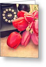 Call Me My Love Greeting Card by Edward Fielding