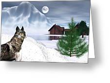 Call Of The Wild Greeting Card by Michele Wilson