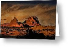 Camelback Canyon Lands Greeting Card by Robert Albrecht