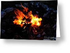 Campfire Greeting Card by Boon Mee