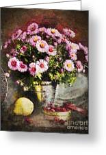 Can Of Raspberries Greeting Card by Mo T