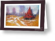 Canadian Calm Greeting Card by Matthys Moss