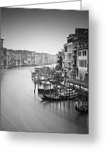 Canal Grande Study IIi Greeting Card by Nina Papiorek
