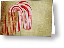 Candy Canes Greeting Card by Kim Hojnacki