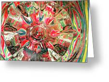 Candy Greeting Card by Donna Blackhall