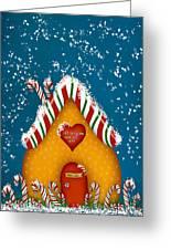 Candy Lane Greeting Card by Brenda Bryant