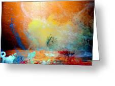 Canis De Galactic Greeting Card by Petros Yiannakas