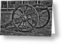 Cannon Greeting Card by Todd and candice Dailey