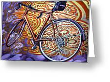 Cannondale Greeting Card by Mark Howard Jones