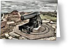 Canon Fire 360 Greeting Card by Adam Jewell