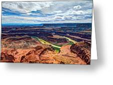 Canyon Country Greeting Card by Chad Dutson