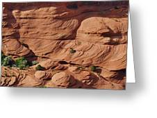 Canyon De Chelly - A Fascinating Geologic Story Greeting Card by Christine Till