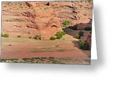 Canyon De Chelly From White House Ruins Trail Greeting Card by Christine Till