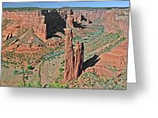 Canyon De Chelly - Spider Rock Greeting Card by Christine Till