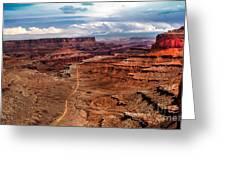 Canyonland Greeting Card by Robert Bales