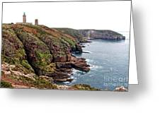 Cap Frehel In Brittany France Greeting Card by Olivier Le Queinec