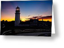 Cape Cod Light Greeting Card by Bill  Wakeley