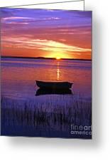 Cape Cod Sunrise Greeting Card by John Greim