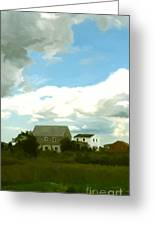 Cape House Greeting Card by Paul Tagliamonte
