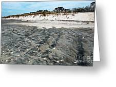 Cape May Beach Colors Greeting Card by John Rizzuto
