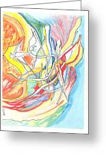 Capricious Greeting Card by Donna Crist