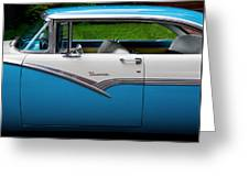 Car - Victoria 56 Greeting Card by Mike Savad