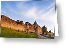 Carcassonne Languedoc Roussillon France Greeting Card by Colin and Linda McKie