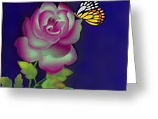 Careless Whisper Greeting Card by Latha Gokuldas Panicker