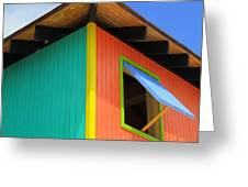 Caribbean Corner 1 Greeting Card by Randall Weidner