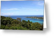 Caribbean Cruise - St Thomas - 1212238 Greeting Card by DC Photographer