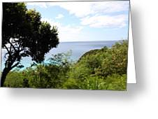 Caribbean Cruise - St Thomas - 121286 Greeting Card by DC Photographer