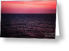 Caribbean Sunset Greeting Card by Kim Fearheiley