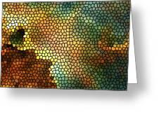Carina Nebula Mosaic  Greeting Card by Jennifer Rondinelli Reilly - Fine Art Photography