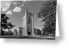 Carleton College Skinner Memorial Chapel Greeting Card by University Icons