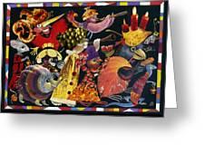Carnival Greeting Card by Nekoda  Singer