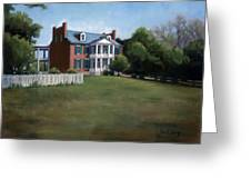 Carnton Plantation In Franklin Tennessee Greeting Card by Janet King