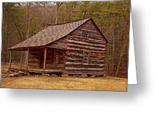 Carter Shields Cabin 3 Greeting Card by Wild Expressions Photography