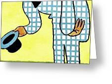 Cartoon 02 Greeting Card by Svetlana Sewell