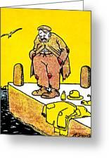 Cartoon 09 Greeting Card by Svetlana Sewell